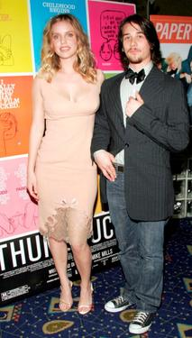 Kelli Garner and Lou Taylor Pucci at the premiere of &quot;Thumbsucker.&quot;